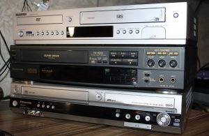 Японские видеомагнитофоны и рекордеры